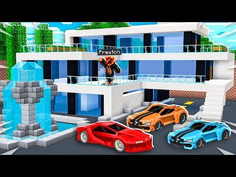 Minecraft MILLIONAIRE House Battle vs Unspeakable!