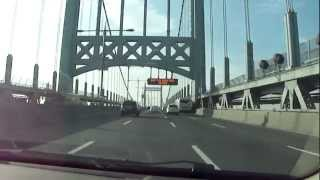 Rober F. Kennedy (Triborough) Bridge drive over in less than 2 minutes