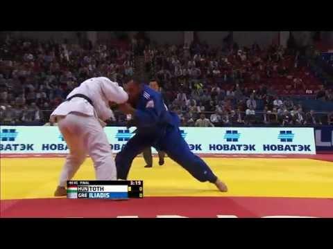 Ilias Iliadis Wins Mens -90 Gold - JUDO World Championship 2014