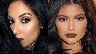Kylie Jenner Fall Makeup Tutorial | LustreLux