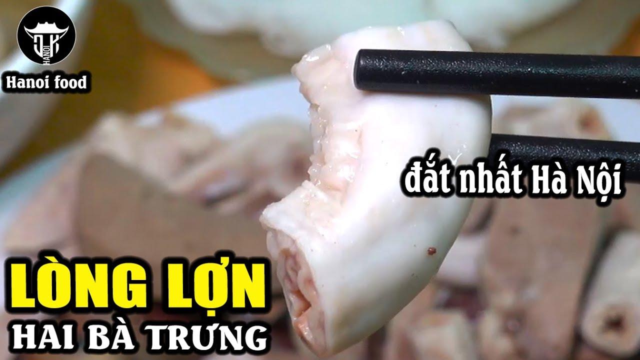 Lòng lợn luộc cô Dậu | Trải nghiệm quán lòng đắt nhất Hà Nội những ngày giáp TẾT