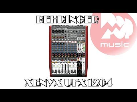 Микшерный пульт BEHRINGER XENYX UFX1204 обзор и аудиодемонстрация