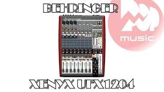 Микшерный пульт BEHRINGER XENYX UFX1204 обзор и аудиодемонстрация(Видео-обзор компактного, но очень навороченного микшерного пульта BEHRINGER XENYX UFX1204 http://bit.ly/1Pcv8Eo. Это устройство..., 2015-07-22T05:50:41.000Z)