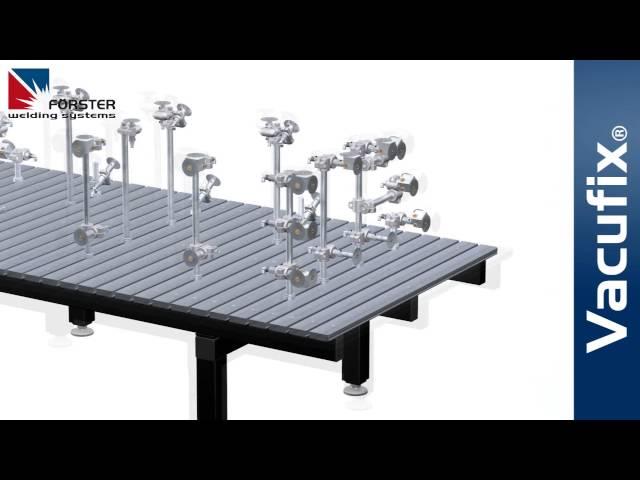 FÖRSTER Vacufix® VAKUUMSPANNSYSTEM - vacuum clamping system