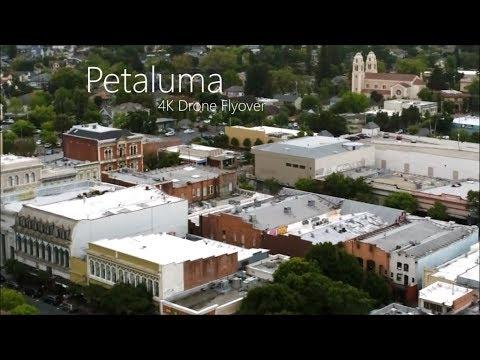 Beautiful Petaluma! A 4K Video Drone Flyover...DJI Phantom IV Drone