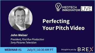 2019 MTI LIVE Webinar 1: Perfecting Your Pitch Video