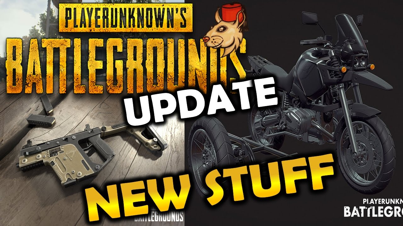 Bikes Vector Smg Playerunknown S Battlegrounds New Update Youtube