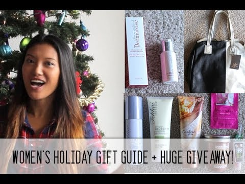 Haute Holidays: Women's Holiday Gift Guide + HUGE Giveaway!