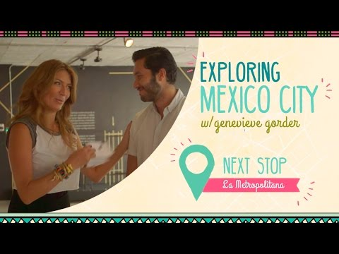 Genevieve Gorder Goes Behind-the-Scenes with Mexico City Design Firm, La Metropolitana