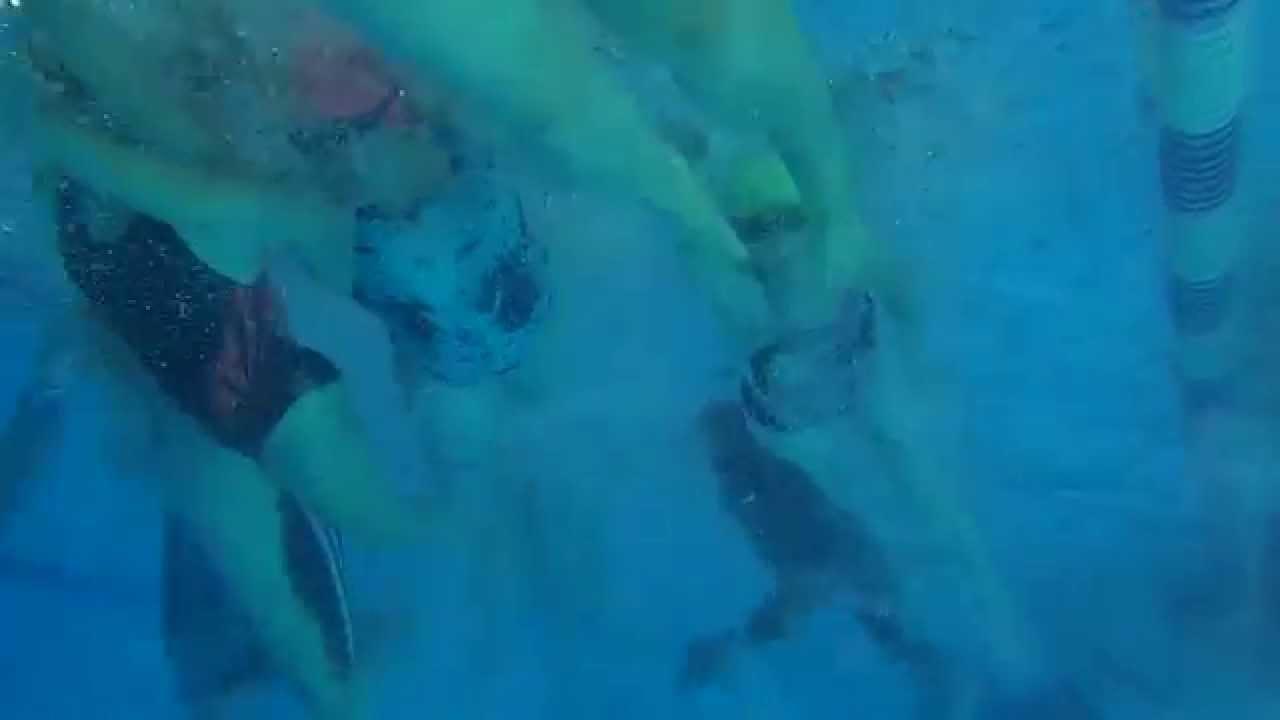 Fall 2015 Mass Swim Start Part 2 Youtube