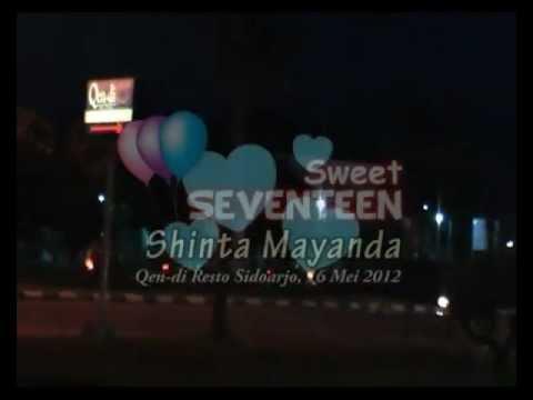 Sweet Seventeen Birthday Party Shinta