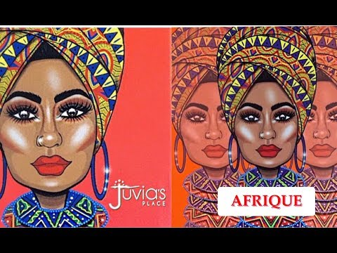 NEW JUVIA'S PLACE AFRIQUE COLLECTION | REVIEW & TUTORIAL | Fumi Desalu-Vold