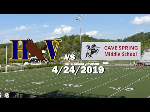 HVMS vs Cave Spring Middle School  -4/24/2019 FULL GAME