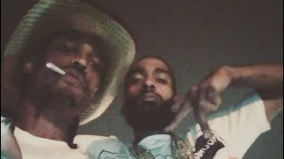 Nipsey Hussle(Lil Thundacat) & Cowboy(Big Thundacat) Friendship