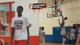 Manute Bol's 15 Year Old Son Bol Bol | 6'11 With Guard Skills