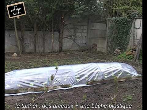 Plantation de salades bio sous tunnel - UnPotagerBio.fr