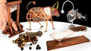 METAL AND WOOD || 5 BREATHTAKING CRAFT IDEAS