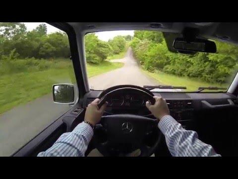 2012 Mercedes G550 POV Test Drive