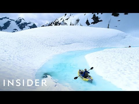 Reach These Breathtaking Glacier Melts By Helicopter