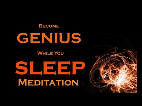 Become GENIUS while you SLEEP ~ Develop the Genius Mindset