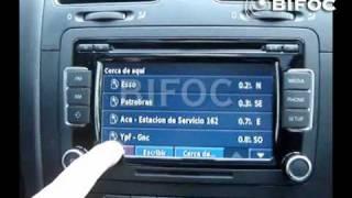 GPS TACTIL VW - VENTO - PASSAT - TIGUAN