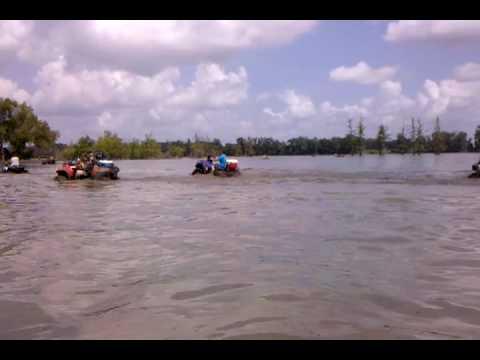 Angola LA mud ride