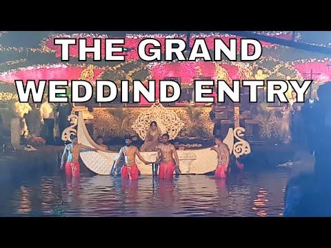 THE GRAND WEDDING ENTRY BANGALORE PALACE GROUND KRUNAL BARUWALA