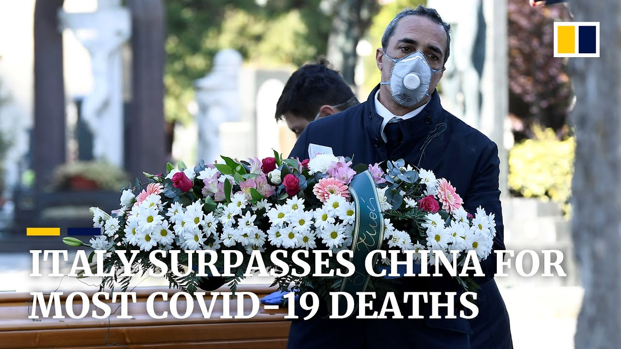 Coronavirus: More people have now died from Covid-19 in Italy than in China