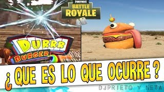 THIS IS CRAZY ? Durrr Burguer disappears from Fortnite and appears IN REAL LIFE ! (DETAILS)