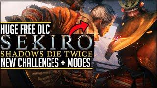 Sekiro: Shadows Die Twice - NEW SURPRISE FREE DLC UPDATE - Boss Rush Mode, Gauntlets, Outfits!
