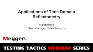Applications of Time Domain Reflectometry