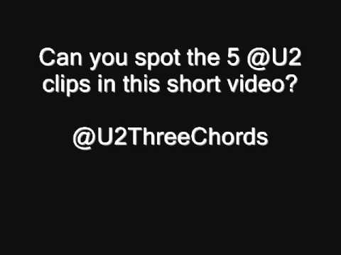 U2 song clips quiz number 8