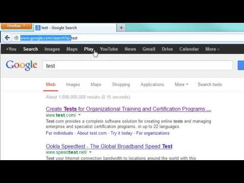 How To Make Google My Search Engine In The URL Field In Firefox : Google, Java & More
