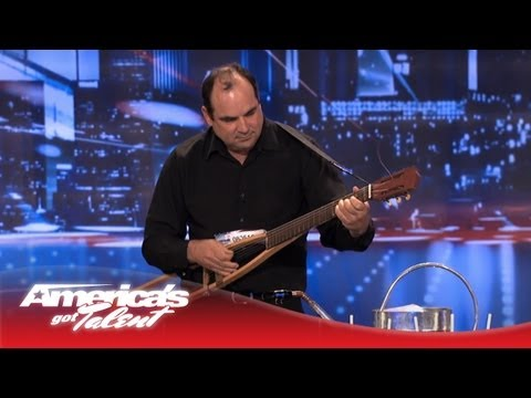 Abel - Musician Plays Instruments Made Out of Brooms and Crutches - America