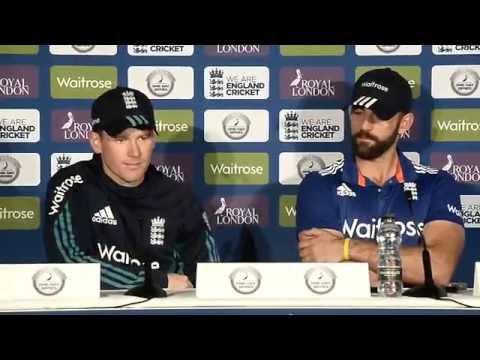 Sri Lanka v England 1st ODI, Post match Press Conference - Eoin Morgan & Liam Plunkett