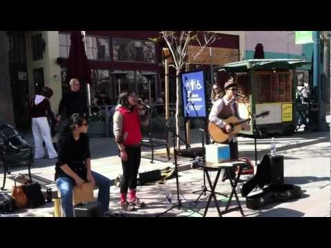 """Dave and The Cousins LIVE on Third Street Promenade - """"Where the Wind Blows"""""""
