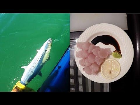 Finally Back On The Water - Cero Mackeral Sashimi