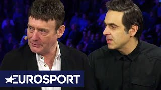 Ronnie O'Sullivan and Jimmy White reflect on Trump's shock exit | London Masters 2020 | Eurosport