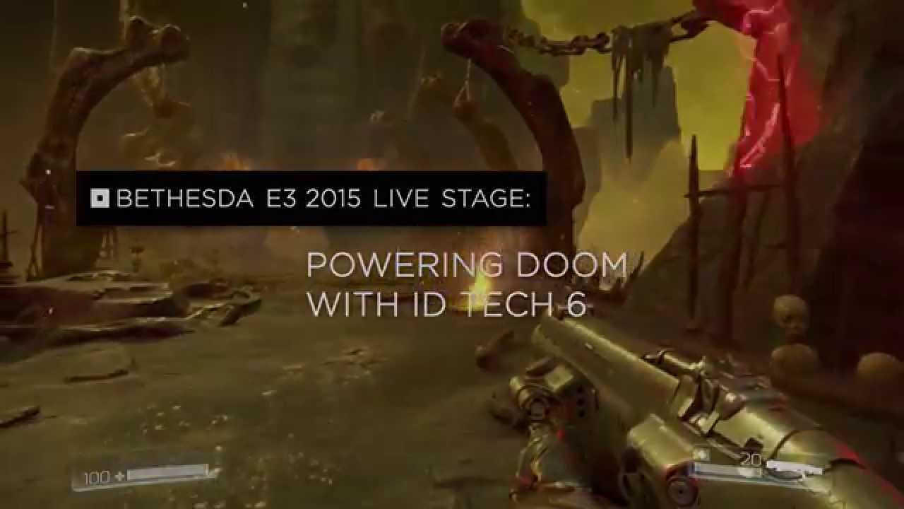 Powering DOOM With Id Tech 6 Engine