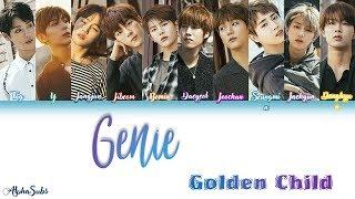 Golden Child  골든차일드  - Genie Color Coded Lyrics/가사  Han|rom|eng