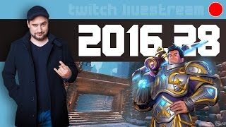 Let's Play Livestream 2016 #28 - News, Indiegame, Orcs Must Die: Unchained