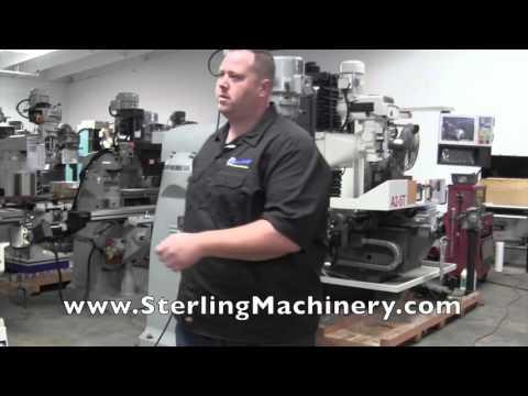 "9"" x 49"" Brand New Acra Vertical Milling Machine (Variable Speed) ""Bridgeport Copy"", Mdl. ..."