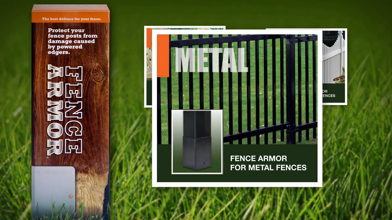 Rittenhouse Fence Post Protection By Fence Armor Youtube