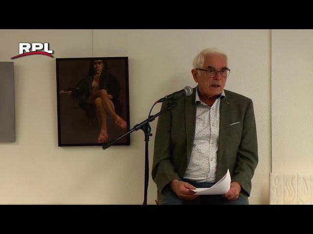 Opening atelier Kunstkring aan de Edisonweg in Woerden