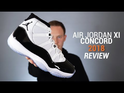 Air Jordan 11 Concord 2018 Review, Unboxing & On Feet