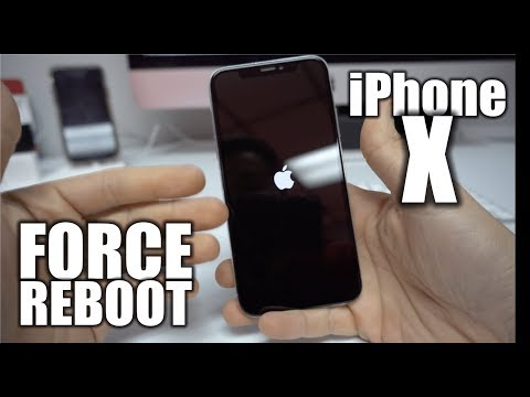 How to Force Reboot/Restart iPhone X - Frozen Screen Fix