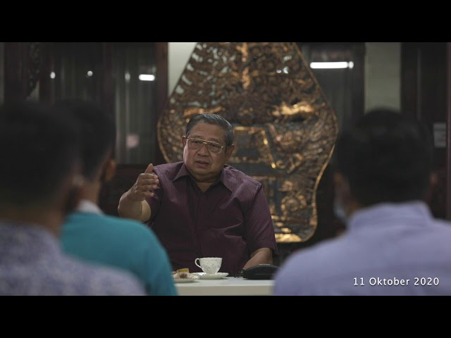 SBY Ngobrol Santai Perkembangan Terkini