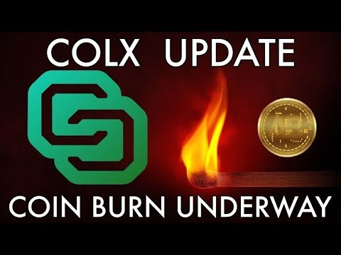COLX Update | Coin Burn Almost Complete