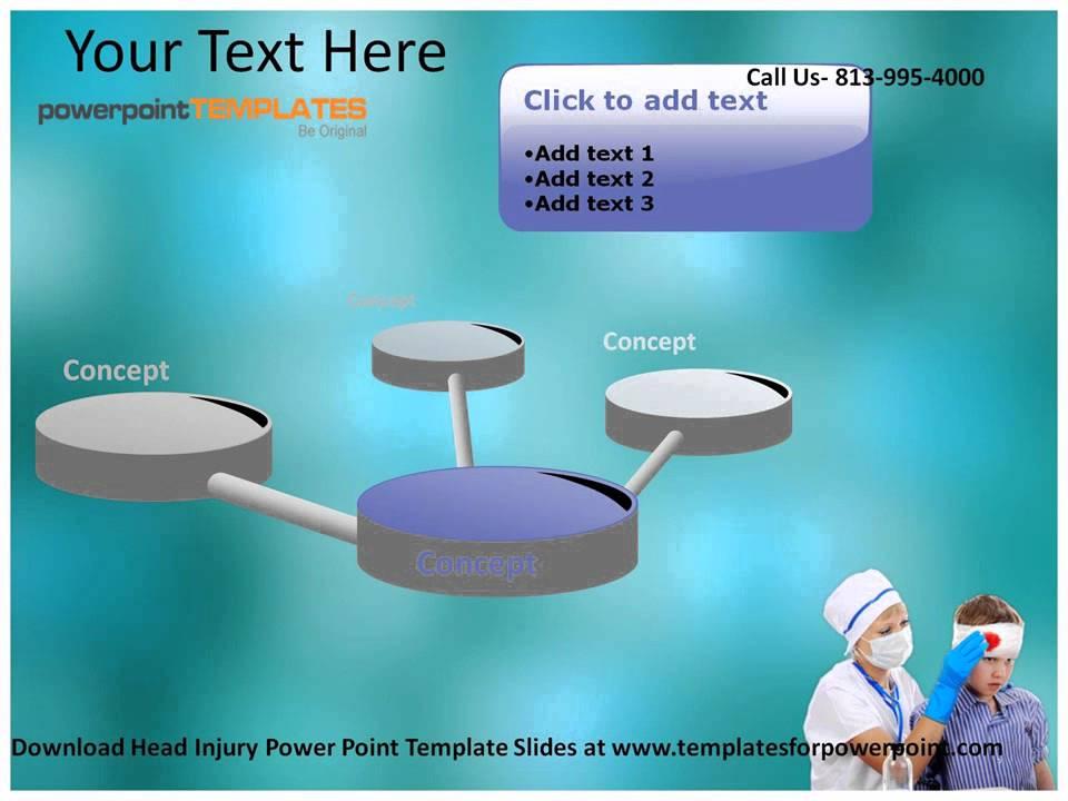 Head injury powerpoint template youtube head injury powerpoint template toneelgroepblik Images