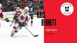 Kris Bennett: U SPORTS Male Athlete of the Month (February 2019)